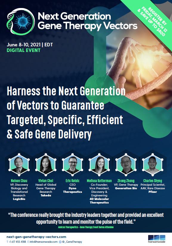 Next Generation Gene Therapy Vector Summit Brochure